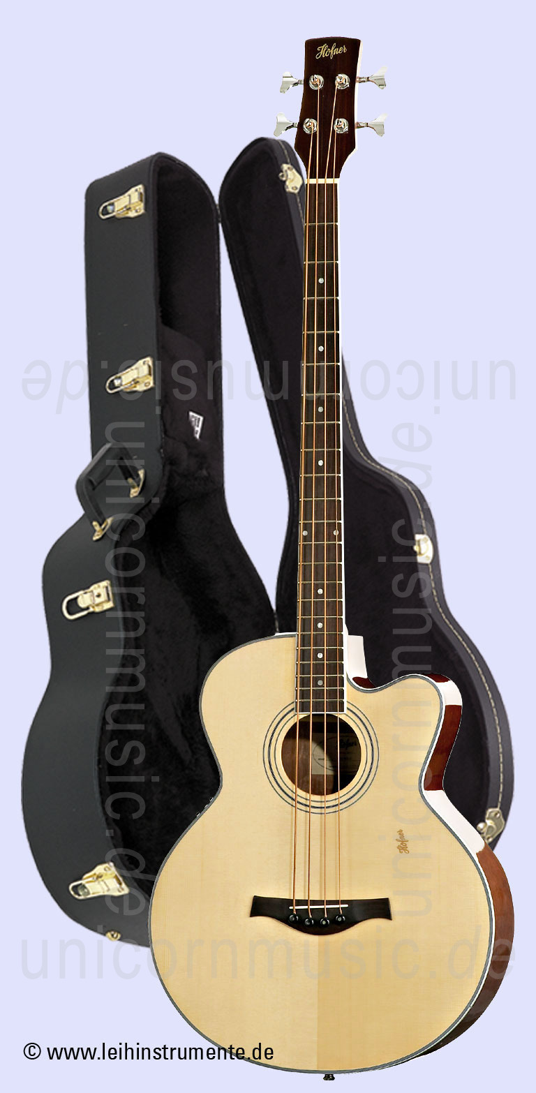 to article description / price Acoustic Bass HOEFNER HA-B03E - B Band - solid top