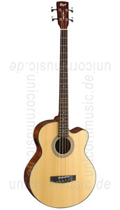 Large view Acoustic Bass CORT SJB5 - Fishman Isys Plus - solid top
