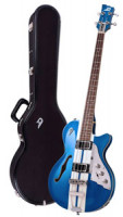 Electric Bass - DUESENBERG STARPLAYER BASS - MIKE CAMPBELL LTD + Custom Line Case