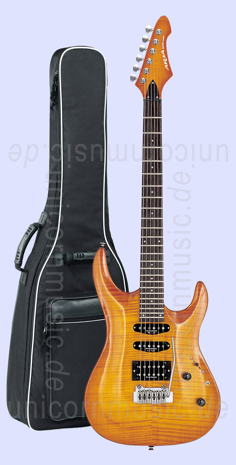 to article description / price Electric Guitar ARIA MAC60-AN - amber natural