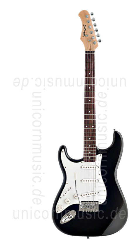 to article description / price Electric Guitar STAGG S300-LH-BK - left hand