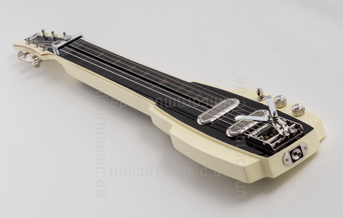 to article description / price Electric Guitar DUESENBERG ALAMO LAPSTEEL - Ivory + Custom Line Case