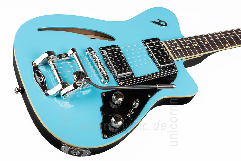 to article description / price Electric Guitar DUESENBERG CARIBOU - Narvik Blue - Tremolo