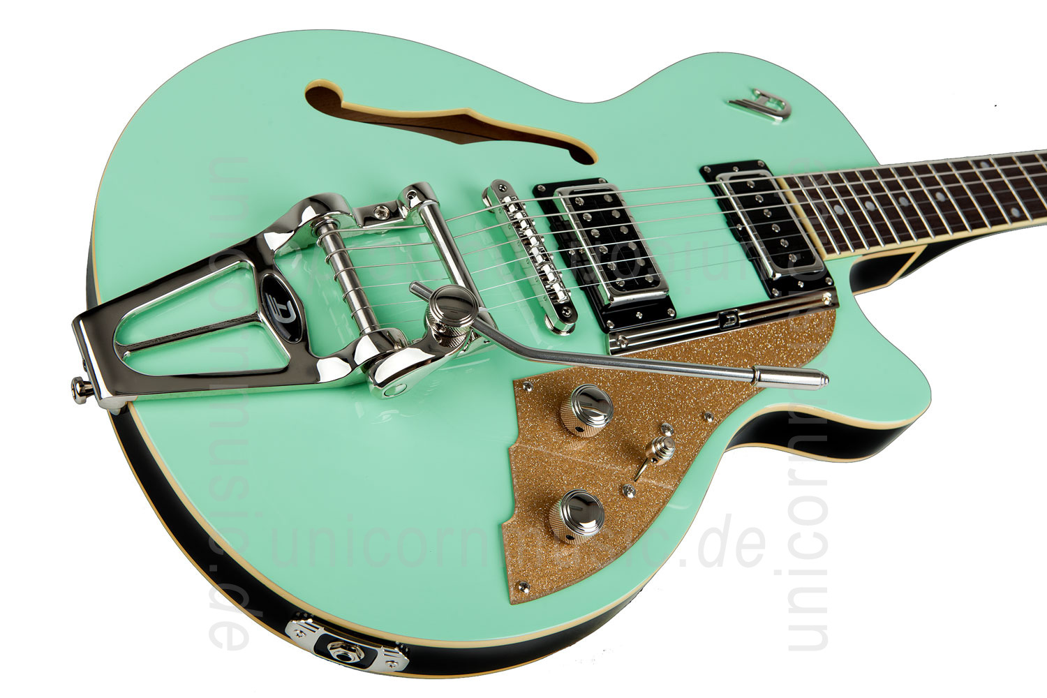 to article description / price Electric Guitar DUESENBERG STARPLAYER TV - SURF GREEN + Custom Line Case