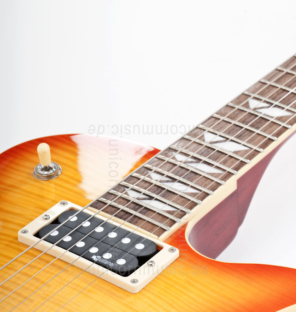 to article description / price Electric Guitar FERNANDES RAVELLE ELITE - Honeyburst - Sustainer + Case