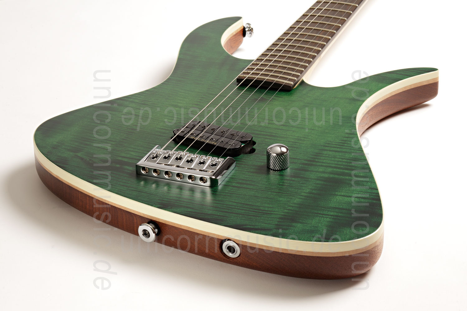 to article description / price Electric MGH GUITARS Blizzard Beast Standard Supreme - dark green + softcase - made in Germany