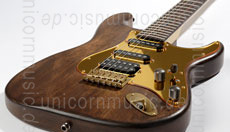 Large view Electric Guitar BERSTECHER Old Whisky Deluxe Gold + hard case - made in Germany