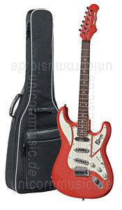 Large view Electric Guitar BURNS COBRA - guards red or other colours