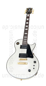Large view Electric Guitar BURNY RLC 95S SW Snow White + Sustainer