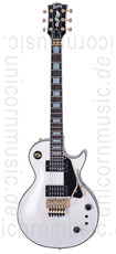 Large view Electric Guitar BURNY RLC 85S SW FLOYD ROSE - Snow White + Sustainer