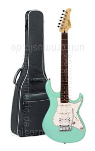 Large view Electric Guitar CORT G260 DX Swamp Ash - See Foam Green