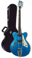 Electric Guitar DUESENBERG FULLERTON ELITE - Catalina Blue + Custom Line Case