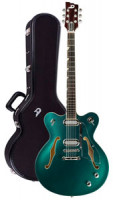 Electric Guitar DUESENBERG GRAN MAJESTO - Catalina Green + Custom Line Case