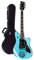Electric Guitar DUESENBERG PALOMA - Narvik Blue + custom line case