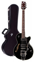 Electric Guitar DUESENBERG STARPLAYER III - BLACK + Custom Line Case