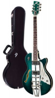 Electric Guitar DUESENBERG STARPLAYER TV ALLIANCE - MIKE CAMPBELL 40th + Custom Line Case