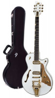Electric Guitar DUESENBERG STARPLAYER TV - PHONIC - Venetian White + Custom Line Case