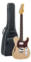 Electric Guitar G&L Tribute Asat Classic Bluesboy Semi Hollow - Blonde