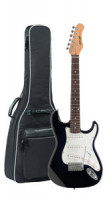 Children's Electric Guitar STAGG S300 3/4 BK - also as a travel guitar for adults