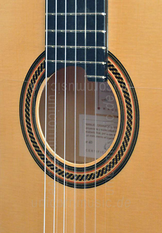 to article description / price Spanish Flamenco Guitar CAMPS PRIMERA A CYPRESS (blanca) - all solid - spruce top