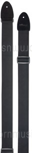 Large view Guitarstrap STAGG SNV5 BK - black