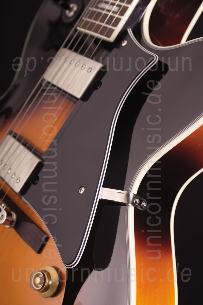 to article description / price Semi-Resonance Archtop Jazz Guitar CORT YORKTOWN Tobacco Burst + gigbag