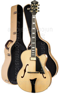 Large view Full-Resonance Archtop Jazz Guitar HOFNER NEW PRESIDENT HNP-N-0 + hardcase - solid spruce top