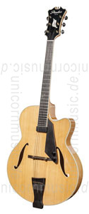 Large view Full-Resonance Archtop Jazz Guitar - PEERLESS IMPERIAL + hardcase - all solid