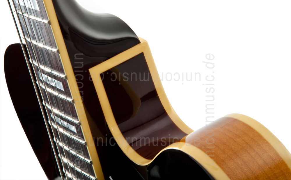 to article description / price Semi-Resonance Archtop Jazz Guitar - PEERLESS WIZARD STANDARD + hardcase