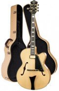 Full-Resonance Archtop Jazz Guitar HOFNER NEW PRESIDENT HNP-N-0 + hardcase - solid spruce top