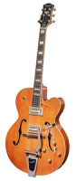 Full-Resonance Archtop Jazz Guitar - TONEMASTER PLAYER Orange + hardcase