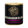 Willie`s Cacao 100% - MADAGASCAN BLACK - SAMBIRANO - 180g block for grating