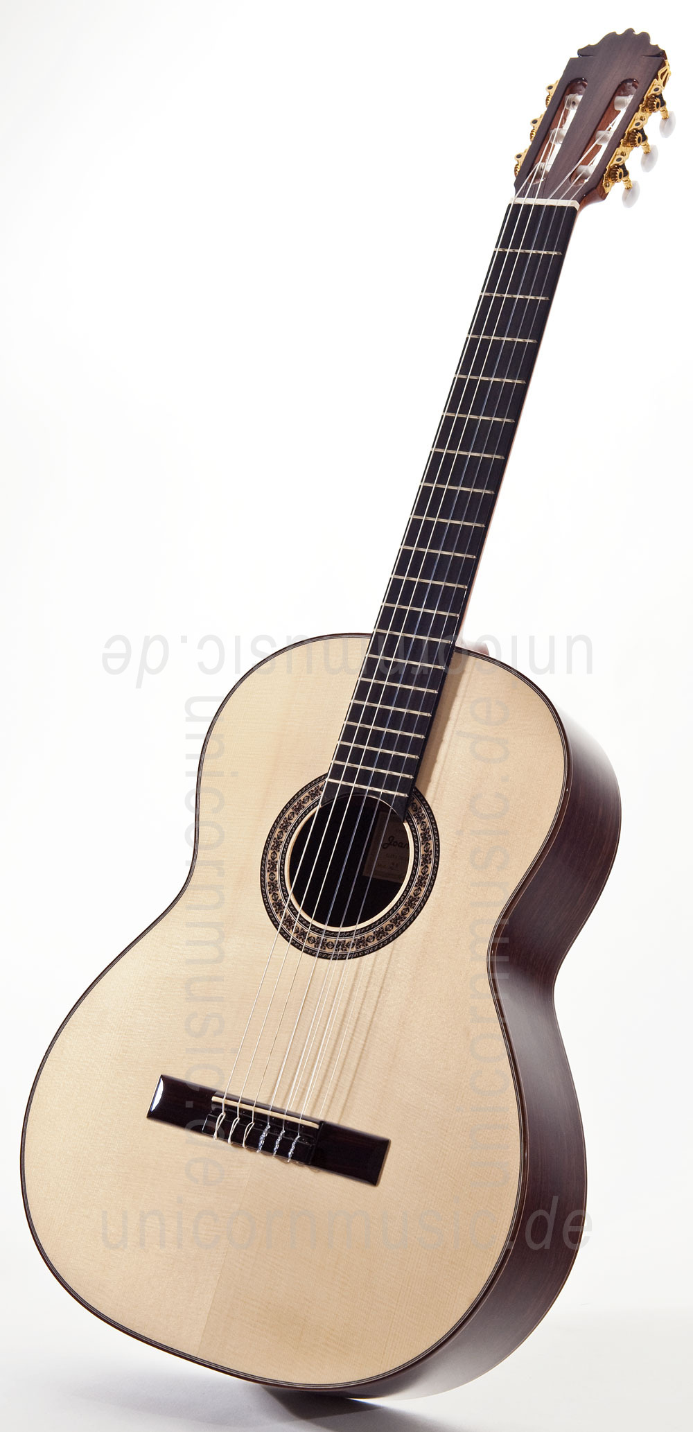 to article description / price Spanish Classical Guitar JOAN CASHIMIRA MODEL 2A Spruce - all solid - spruce top + Softcase