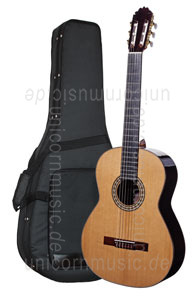 Large view Spanish Classical Guitar JOAN CASHIMIRA MODEL 2A Cedar- all solid - spruce top + Softcase