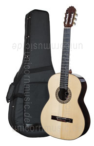 Large view Spanish Classical Guitar JOAN CASHIMIRA MODEL 2A Spruce - all solid - spruce top + Softcase