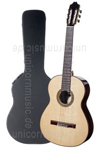 Large view Spanish Classical Master Guitar JUAN ANTONIO CORREA MARIN spruce - all solid - spruce top  + case