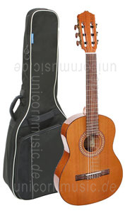Large view Classical Guitar - SALVADOR CORTEZ MODELL CC-22-SN (ladies' guitar) - solid cedar top