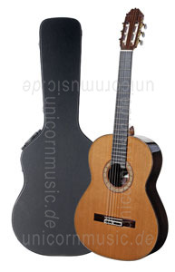 Large view Spanish Classical Guitar HERMANOS SANCHIS LOPEZ Model 1 EXTRA CONCIERTO - all solid - cedar top + case