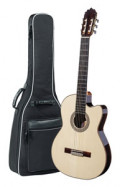 Spanish Classical Guitar JOAN CASHIMIRA MODEL 130 Cutaway Thinline Spruce - without pickup - solid spruce top
