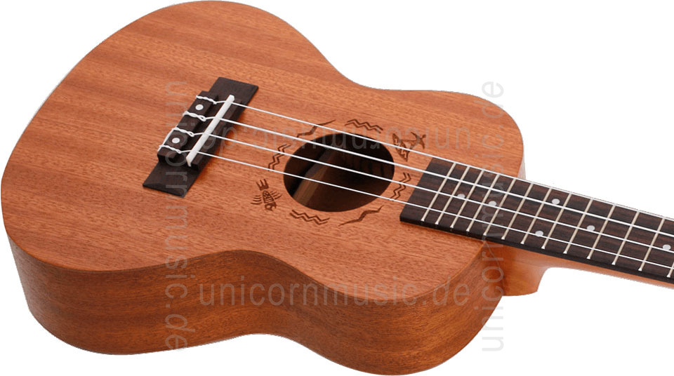 to article description / price Concert Ukulele - FLIGHT NUC 310 - Sapele Wood + gigbag