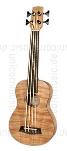 Large view Bass Ukulele - KORALA UKBB 310 FE - Pickup - Fretless - Okume top