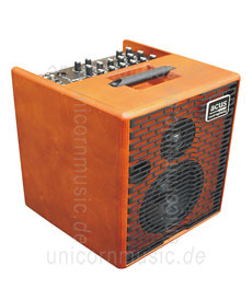 Large view Acoustic Amplifier - ACUS ONE 6 Wood - 3x channel (2x instrumental / independently controllable)
