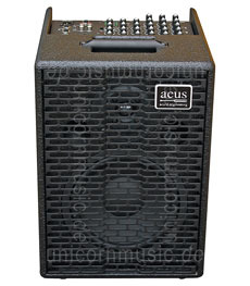 Large view Acoustic Amplifier - ACUS ONE 8 Black M2 - 4x channel (3x Instrumental / independently contrallable)