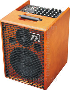 Large view Acoustic Amplifier - ACUS ONE 8 Wood - 4x channel (3x instrumental / independently controllable)
