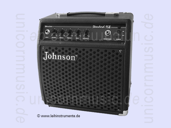 to article description / price Bass Amplifier JOHNSON JV-15B - Combo