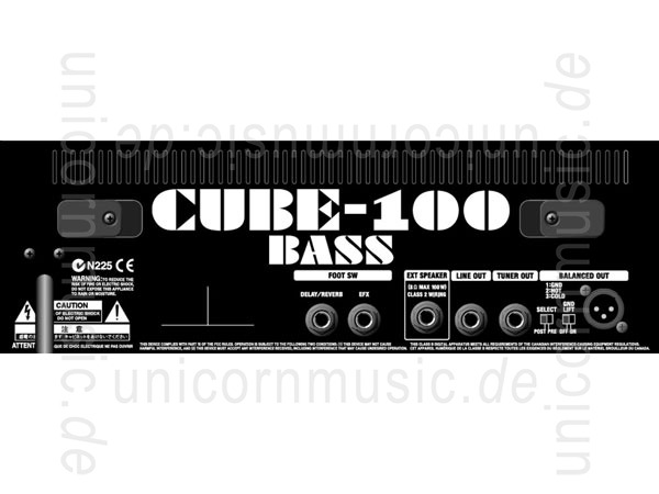 to article description / price Bass Amplifier ROLAND CUBE CB100 - Bass Combo
