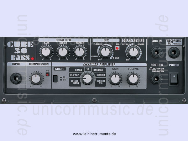 to article description / price Bass Amplifier ROLAND CUBE CB30 -Bass Combo