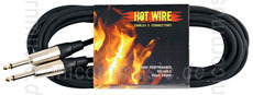 Large view Guitar cable HOTWIRE - 6 meter - black