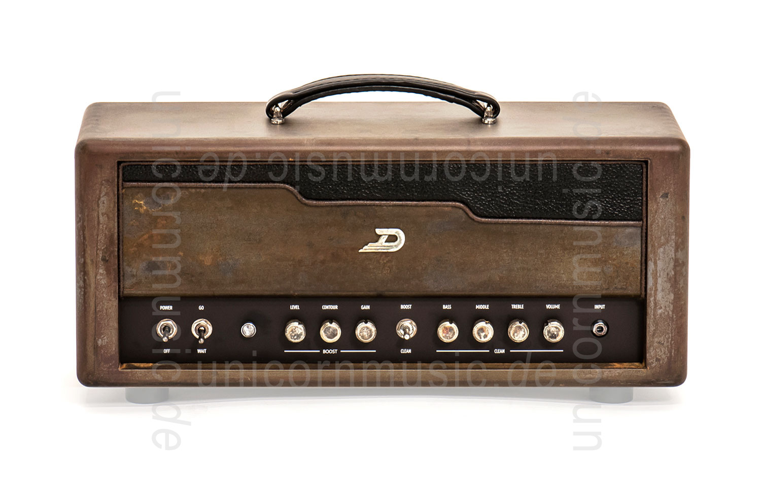 "to article description / price Electric Guitar Amplifier - DUESENBERG BERLIN - Top + 1x12"" Cabinet"