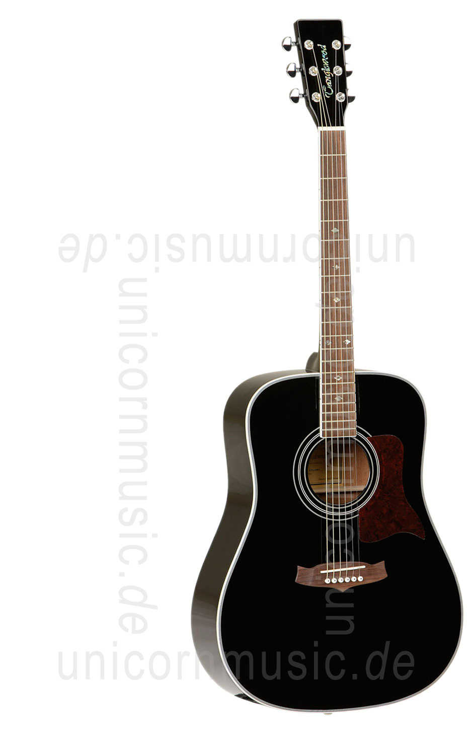 to article description / price Acoustic Guitar TANGLEWOOD TW15/BK - Sundance Series - all solid